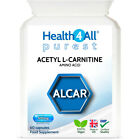 Health4All Acetyl L-Carnitine ALCAR 500mg Capsules | FAT BURNER |NEUROPROTECTION £6.99 GBP on eBay