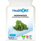 Health4All Wormwood 250mg Capsules | PARASITE DETOX CLEANSE | 100% Vegan £7.99 GBP on eBay