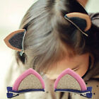 New Orecchiette Hairband Clips Hairpin Hairband Cute Stereo Cat Ear Clip Leopard
