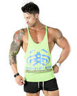 Strong Liftwear 'Symmetry' Tback mens gym singlet bodybuilding stringer yback