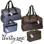 2 PIECE SET THIRTY ONE WEEKENDER HOLIDAY TRAVEL BAG TOTE BAG COSMETIC LUGGAGE