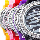 2015 new fashion women girl cute Cristal casual dress wrist quartz watch gift s2