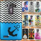 Slim Back Shell Protective Hard Design Phone Cover Case for LG G4 (2015)