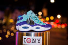 Reebok Question Mid Iverson Sns X Packer Shoes Sz 4-13 Token 38 Teal / Purple Nyc