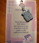 NEW BABY PRAM or CRIB HANGER - BABY GIRL,  BOY,   LITTLE ONE - GREAT GIFT IDEA