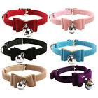 New Pet Dog Cat Diamante PU Leather Collar With Safety Buckle And Bell HOT