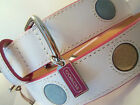 NEW COACH POLKA DOTS EXTRA SMALL SMALL MEDIUM LARGE LEATHER DOG COLLAR XS S M L