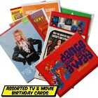 Movie, TV and Music Themed greeting cards - Retro Kids TV, Celebrities