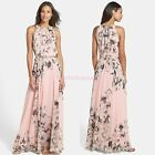 Women Summer Boho Long Maxi Dress Lady Chiffon Bohemia Beach Party Dress New