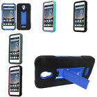 For Alcatel OneTouch Pop Astro Color Heavy Duty Stand Hybrid Hard Cover Case