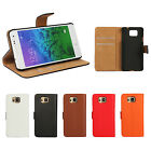 PU Leather Flip Wallet Stand Case Cover Card Slot For Samsung Galaxy Alpha G850