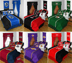 new NBA Basketball Bed Comforter Sheets BEDDING SET Collections - PICK YOUR TEAM
