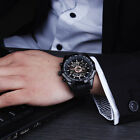 Fashion Men Classic Steampunk Auto Mechanical Carve Steel Men Wrist Watch ss2