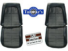 1971 GTO & LeMans Sport Front Seat Upholstery Covers PUI New