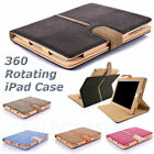 Shockproof Magnetic 360 Rotating Smart Cover Wallet Case for Apple iPad 9.7 /7.9