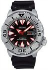 Seiko Automatic 4R36 Black Monster Professional Divers 200m Men's Watch SRP313K1