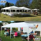 Quictent® 10'x10'/20'/30' Heavy Duty Outdoor Wedding Gazebo Canopy Party Tent