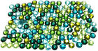 Swarovski 2058 ss16 (3.9mm) crystal flatbacks No-Hotfix GREEN & TEAL Colors Mix