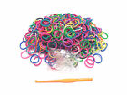 300PCS Mixed Color Rubber + 1Tool Hook  +12  PCS C/S-Clips  Or Buy3 Get 1 free