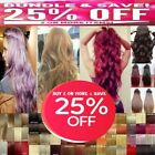 Kyпить Hair Extensions Real Thick 1PCS 3/4 Half Full Head Clip In Long 18-28
