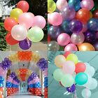20/50/72/100 pcs Round Helium Latex Balloons Wedding Party Birthday Event Decor