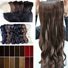 UK hair accessories clip in hair extensions One Piece Real Good Synthetic Hairs