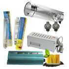 Hydroponics Grow Light Kit Cool Tube Reflector 250-1000w MH HPS Ballast Yoyo Kit
