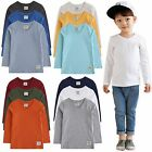 "Vaenait Baby 2T-7T Clothes Toddler Kids V Neck Top Boys T Shirt ""Long T 3set"""