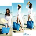 Fashion Womens Summer Shoulder Bag Tote Handbags Ladies Beach Straw Bags W