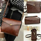 New Women's PU Leather Shoulder Bag Satchel Clutch Handbag Tote Purse Handbag