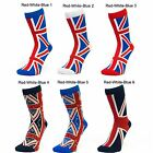 Ladies Women British Union Jack Souvenir Mid Calf Ankle Crew Short Socks New Lot
