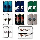 JURASSIC WORLD PARK DINOSAURS PHONE CASE FOR iPHONE 4 5 5C 6 iPOD 4th 5th FP
