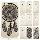 HENNA Flower Paisley Tribal Elephant Cover Phone Case for iPhone 5 5S 5C 6 Plus
