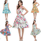 30 DAY ❤ Vintage Style Swing 50s Pinup Rockabilly Housewife Evening Party Dress