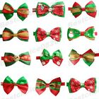 Cute Christmas Pet Gift Cat Dog Neck Bowties Puppy Grooming Xmas Collar Bow ties