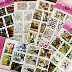 1/5 Sheet Painting Road Map Ship Stamps Water Transfer Nail Art Sticker Decal