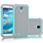 Hybrid Rugged Rubber Matte Protective Case Cover For Samsung Galaxy S4 IV i9500