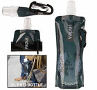 Environmental Portable Foldable Sport Water Bottle Bag Cup With Carabiner 480ml