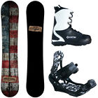 New 2016 Camp Seven Drifter Mens Snowboard Package w/ APX Bindings +APX Boots