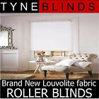 ROLLER BLINDS - straight edge BOLERO fabric - made to your exact size.