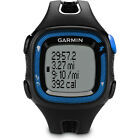 Garmin Forerunner 15 Heart Rate Monitor Bundle Large - Black/Blue