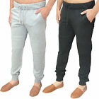Mens AD Designer Brando Fleece Skinny Joggers Cuffed Biker Jogging Pants Bottoms