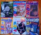 Your Choice Lot of 5 or 6 Rubber Stamping Paper Craft Card Making Magazines