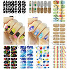 Nail Art Stickers Acrylic Wraps 3D Water Transfer Manicure Nails Decals Polish