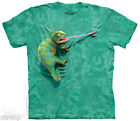 The Mountain CLIMBING CHAMELEON Adult Men T-Shirt S-2XL Short Sleeve