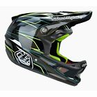 Troy Lee Designs D3 Carbon Evo Grey Full-Face MTB DH Helmet 2015