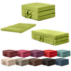 Fold Out Guest Mattress Foam Bed Single & Double Sizes Futon Z bed Folding Sofa