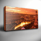 LAS VEGAS SUNSET SCENE - GICLEE CANVAS ART
