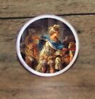 ALEXANDER the GREAT art Cuff Link or Tie Tack or Ring or Pendant or Pin
