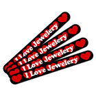 Double-Sided Nail File Emery Board Set 4 Pack I Love Heart Sports Hobbies I-M